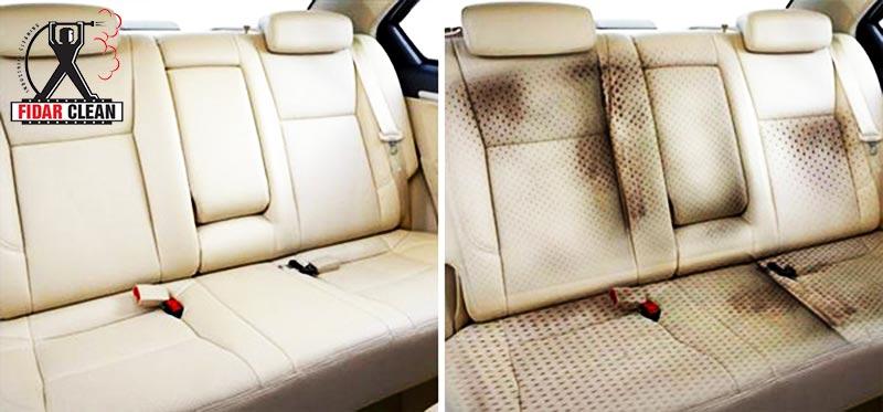 شستشوی صندلی خودرو با بخار
